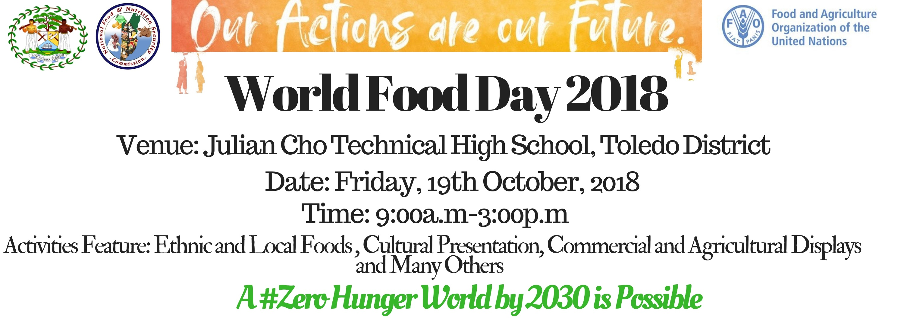 World Food Day 2018 a Success – Agriculture